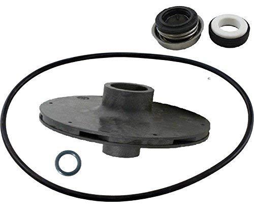 (TacParts Letro Booster Pool Pump LA05L Impeller Seal w/O-Ring Parts Kit)