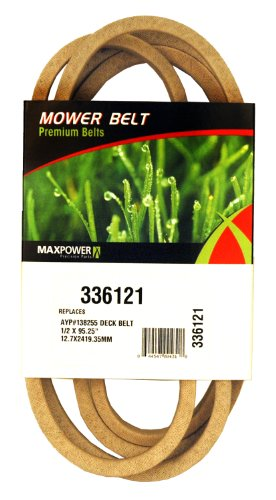 Maxpower 336121 Secondary Drive Belt Replaces Poulan/Husqvarna/Craftsman 130801, 138255, 160855, 532138255 Weedeater Replacement Belt