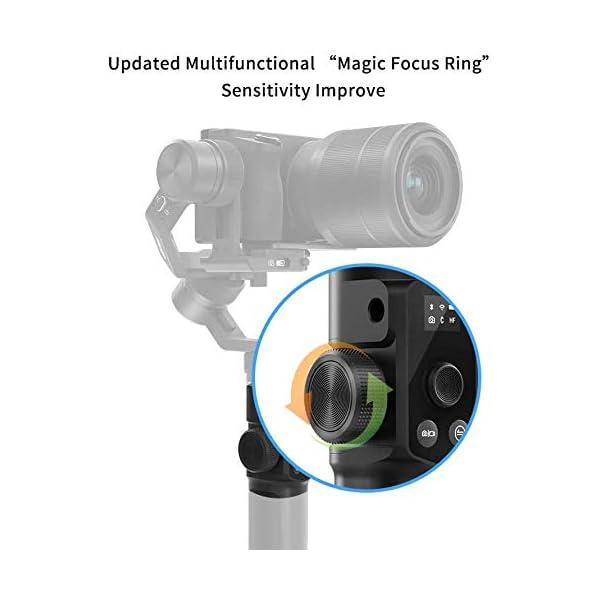 FeiyuTech G6MAX - Stabilizzatore universale portatile integrale a 3 assi per telefoni cellulari, Sony RX100 / A6300 / A6400 / A6500, videocamera DSLM Mirrorless e videocamera d'azione Gopro, Sony RX0 3 spesavip