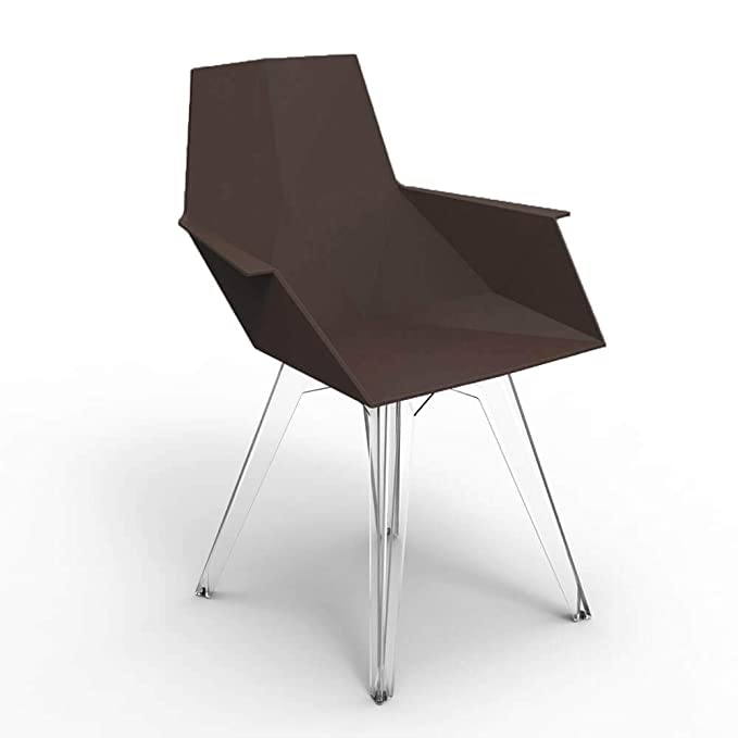 Amazon.com : Set 4 Vondom Faz Small Armchair for Outdoor ...