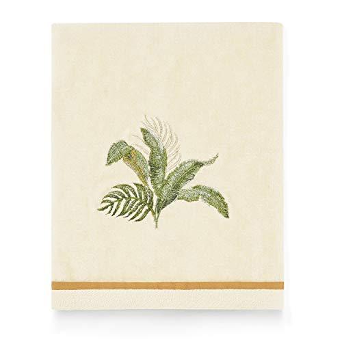 Tommy Bahama Palmiers Hand Towel, 28 x 16, Ivory