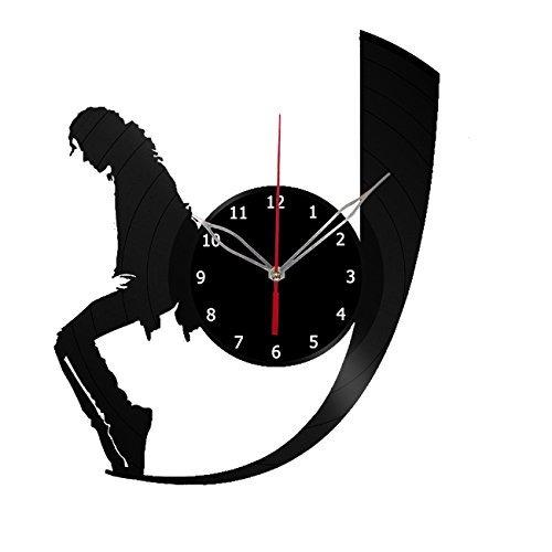 Michael Jackson Vinyl Record Wall Clock Get Unique Bedroom Or Nursery Wall Decor Gift Ideas For Boys And Girls Fantasy Film Unique Art Design Buy Online In Antigua And Barbuda