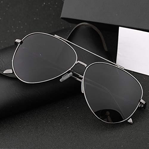 De Sol Sol Alta frame Definición Gris Gafas FKSW De Sol De De Cara Marco Black Gafas Conducción Gafas Masculina Negro Redonda Polarización CqI47Ew