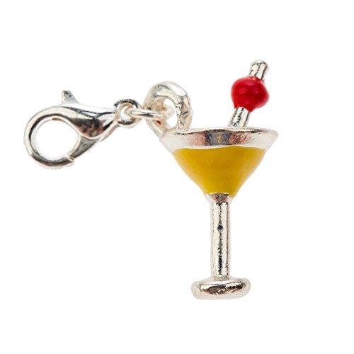 classy-wine-cocktail-martini-glass-shape-clip-on-pendant-charm-for-bracelets-bangles-in-silver-yello