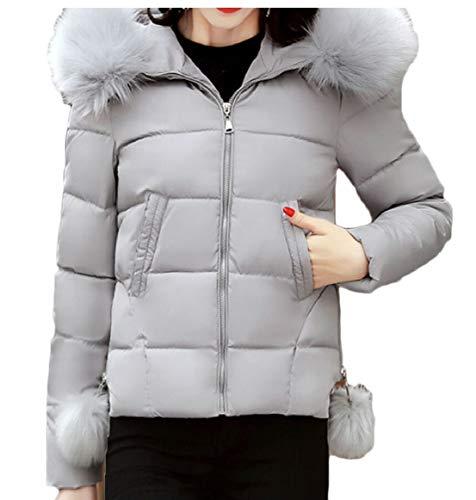 Invernale Delle Di Cappuccio Giacca Sicurezza Donne Cotone Gery La Trapuntata Cappotti Giù 8qT5nw1