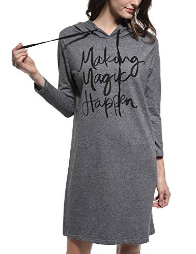 Hooded Long Sleeve Letter - 3