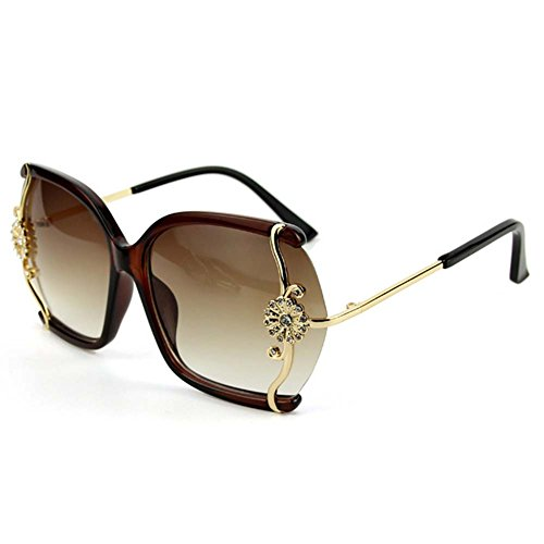 My.Monkey Womens Outdoor Fashion Oversized Gradient Lens - Italy Versus Sunglasses In Made