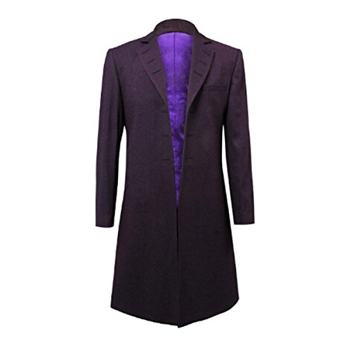 Adults 13th 12th 11th Doctor Series Coat Costume for Halloween (Men L, 11th Doctor pl)