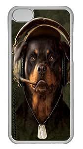 TYHde DJ Sarge Rottweiler Custom iPhone 6 plus 5.5 Case Cover Polycarbonate Transparent ending