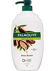Palmolive Naturals Soap free Shower Milk Body Wash Milk & Shea Butter 1L