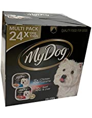 My Dog Multi Pack 24 100g Trays Wet Dog Food Chicken Supreme - Beef and Liver Bulk Value Pack