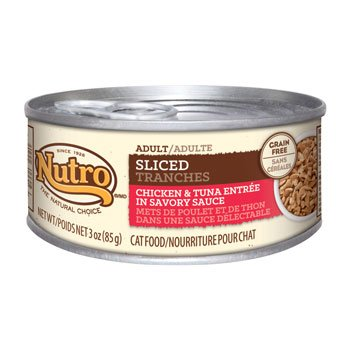 Nutro Natural Choice Sliced Chicken & Tuna Entree Canned Adult Cat Food, Case of 24 by Nutro