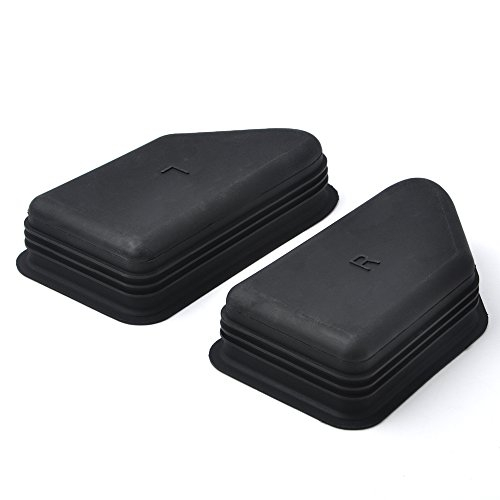 2014-2018 Silverado/Sierra Bed Rail Stake Pocket Covers - Rubber Stake Hole Cover for Chevy/GMC ...