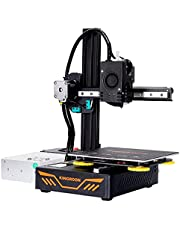 3D Printer, Premium Titan Extruder Aluminum Double Linear Guide Rails and Double Cooling Fans, Easy Assemble Printing Space 180x180x180mm
