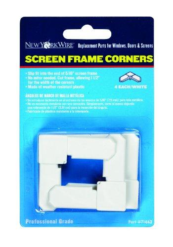 ADFORS Screen Frame Corners, 5/16