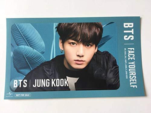 BTS 防弾少年団 ジョングク ICカードステッカー FACE YOURSELF ファンミーティング会場 CD購入特典