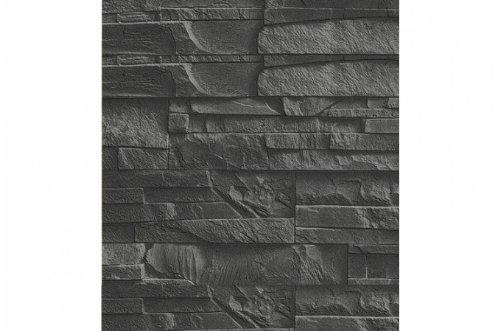 Papier Peint Pierre De Parement Ardoise: Amazon.Fr: Cuisine & Maison