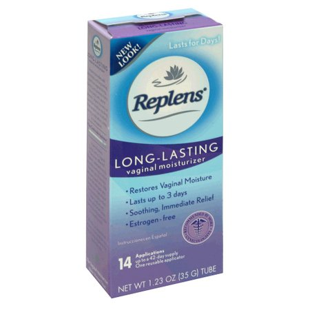 Long Lasting Vaginal Replens féminin Hydratant - 14 demandes et un applicateur réutilisable 1,23 OZ ea