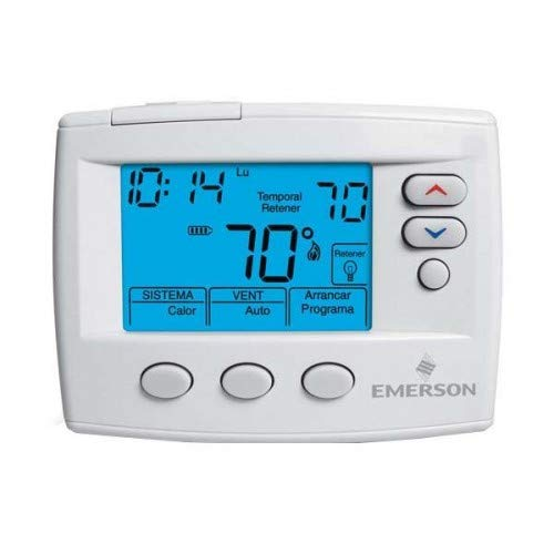 White-Rodgers 1F80ST-0471 Spanish 5/1/1 or 5/2 Day Programmable Digital Thermost, White