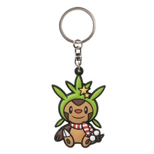 Pokemon-Center-ChespinHarimaron-PokaPoka-Yukiasobi-Key-Chains