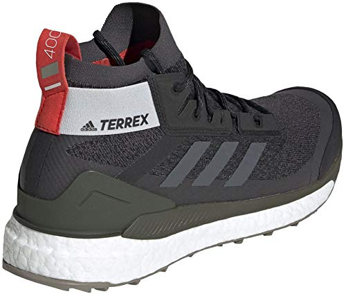 adidas outdoor Terrex Free Hiker Boot - Men's Black/Grey Six/Night Cargo, 8.5 by adidas outdoor (Image #4)