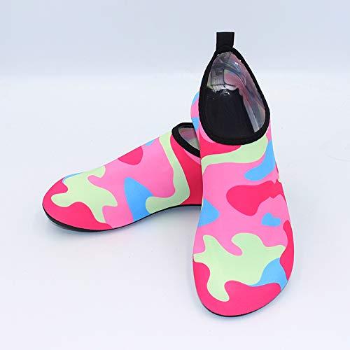 Femmes Et Piscine Sport Léger De Poids Nus Pieds Chaussures D'eau Aquatique Hommes Chaussons Rapide Plage Micaifen Séchage RxwHBR