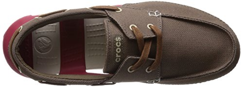 Crocs Uomo Boat Beach Line Stringate M Lace Marrone Up vrpv4qZ