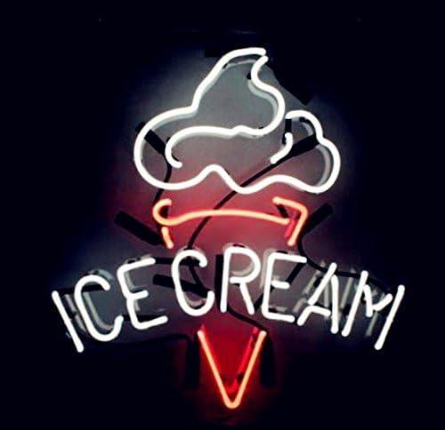 "New Ice Cream Open Neon Sign Beer Bar Pub Gift Light Lamp 20/""x16/"""