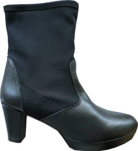 Chillany Femme Noir Bateau Chaussures Pour Stiefelette USqUp