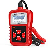 Kzyee KS21 Car Battery Tester, Automotive 100-1700 CCA 12V Battery Load Tester Cranking and Charging System Diagnostic Tool Digital Battery Analyzer
