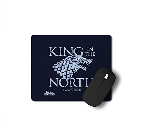 Tee Mafia King in The North Gaming Mouse Pad for Gamers | Game of Thrones Mousepad | Aint Nobody got time for That Mouse pad | Anti Skid Technology Mouse Pad for Laptops and Computers