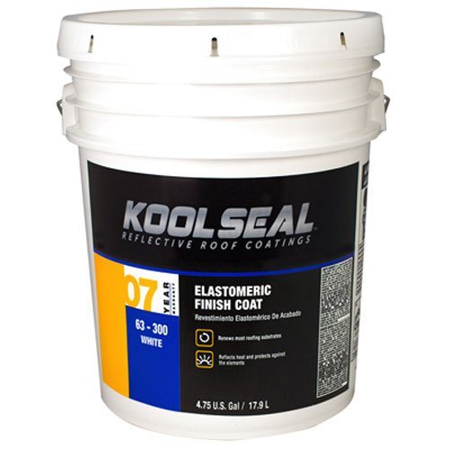 KST COATING KS0063300-20 White Roof Coat, 4.75 Gallon