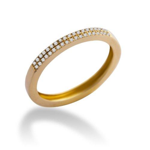 Miore - MP9075R - Bague Femme Or Jaune 375/1000 (9 carats) 1.42 gr - Diamant