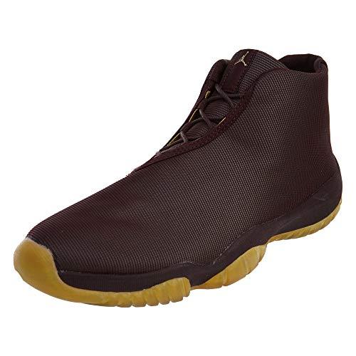 Jordan Nike Air Future Deep Burgandy/Metalic Gold 656503-670 (SIZE: 9.5)