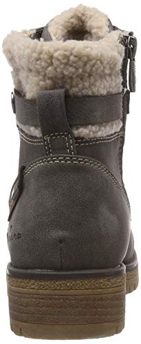 Tailor coal 5891004 Femme 00013 Botines Gris Tom P6d1W8nd