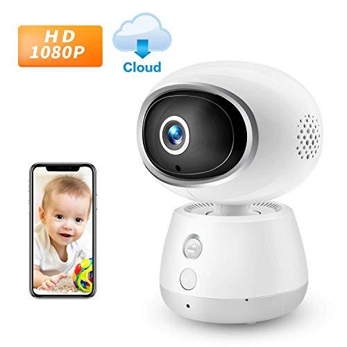 2019 New 1080P IR Home Wireless Camera IP WiFi Camera Haichendz HD Indoor Security Surveillance System Pan/Tilt Two-Way Audio & Night Vision Baby/Elder/Pet/Nanny Monitor