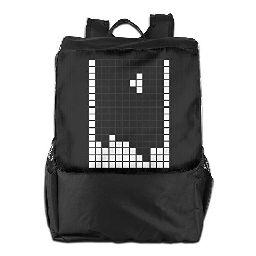 Price comparison product image Fashionable Game Tetris Logo Outdoor Backpack Travel Bag