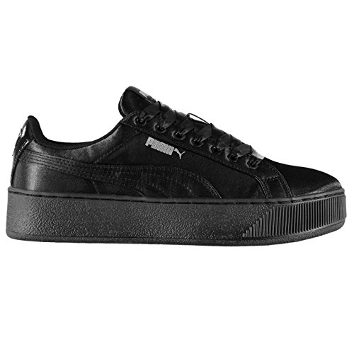 Baskets Officiel de Baskets Noir Sneakers pointe Sports forme Chaussures Vikky Puma en femme plate pour OrfOAq