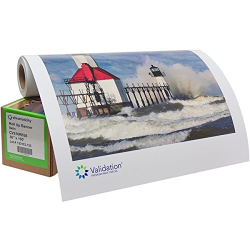 210gsm Roll Up Banner Satin Electronic Computer