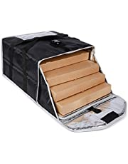 """Insulated Pizza Delivery Bag for Food Transport,Large Size Food Warmer for Hot/Cold Food for Uber Eats/DoorDash/Grubhub/Catering 20"""" by20"""" by 9"""""""