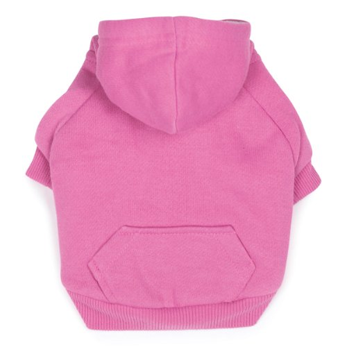 Zack & Zoey Polyester Fleece Lined Dog Hoodie, X-Small, Pink Review