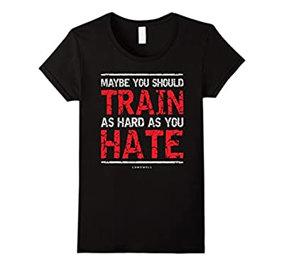 Funny Bodybuilding Shirts: Maybe You Should Train As Hard