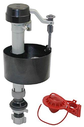 PlumbPak PP830-8, Universal Adjustable Floatless Anti-Siphon Fill Valve and Flapper Toilet Repair Kit.