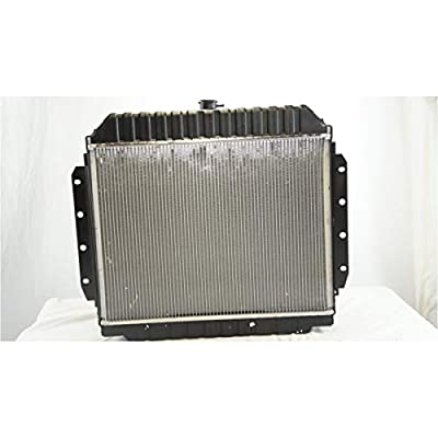Junonne Radiator AT For 70-79 Ford Bronco 70-79 Ford F-100 75-79 Ford F-150 70-79 Ford F-250 70-79 Ford F-350 75-77 Ford F-500 With Oil Cooler CU433 D8TH8005FE2A D8TH8005EEB D8TH8005FB1A: Automotive