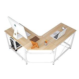 soges Bureau d'Angle Ordinateur Bureau Informatique Table Informatique,LD-Z01-MO