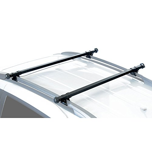 Roof Crossbars Rail (Apex RB-1004-49 Universal Side Rail Mounted Crossbars)