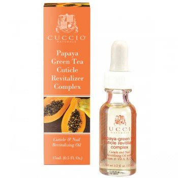 Cuccio Naturale Cuticle Revitalizer Complex - Papaya & Green Tea, .5 oz