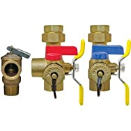 Webstone 3/4 E2 EXP Tankless Water Heater Service Valves 4444W Series
