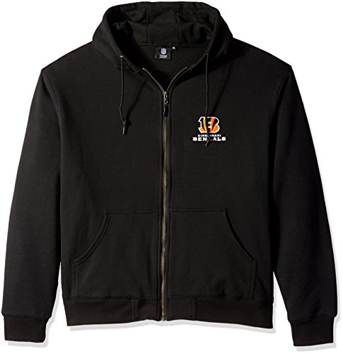 Cincinnati Bengals Full Zip Fleece - 9