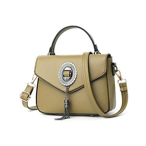 Sacs à main de haute qualité pour les femmes Designer Fashion Tote Satchel Crossbody sac à bandoulière Lightgreen